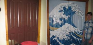 Maľba na dvere za 90 dní v podaní mladého chalana