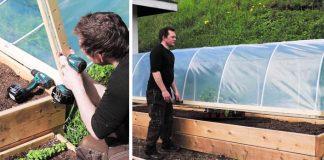 Fóliovník | Návod ako si doma vyrobiť vlastný fóliovník vlastnými rukami
