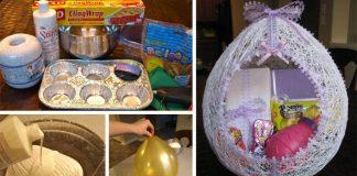 Veľkonočné vajce z vlny | Návod krok za krokom na veľkonočnú dekoráciu