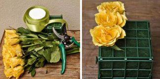 Elegantný rozkvitnutý balík ruží, ktorému sa poteší nejedná žena | Návod