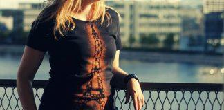 Tričko s motívom Eiffelovej veže pomocou Sava | DIY návod