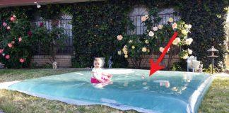 Megavankúš naplnený vodou pre deti na záhradu či dvor | DIY návod