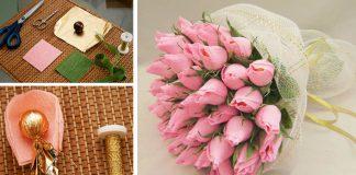 Sladké kytice z bonbónov Ferrero Rocher | DIY návody