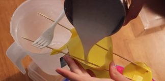 Ruka zo sádry ako stojan na šperky | Kreatívny DIY nápad a návod