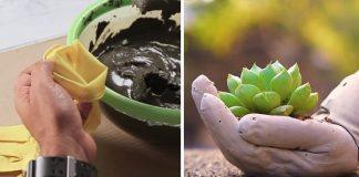 Kvetináč ruky z betónu | Návod ako vytvoriť betónový kvetináč do záhrady