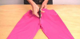 Premena legín na bikini | DIY nápad a návod ako vyrobiť bikini z legín
