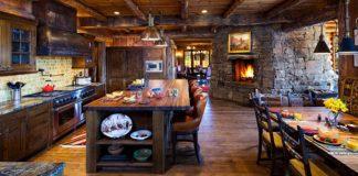 Rustikálne kuchyne, ktoré stelesňujú život na vidieku | 10 inšpirácií