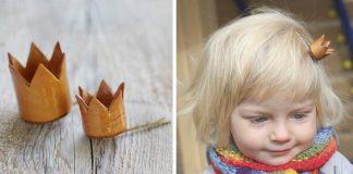 Handmade sponky s korunkou pre malé aj veľké princezné | Nápady