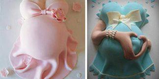 Torty pre tehotné - tehotenské bruško. Najkrajšie torty pre budúce mamičky