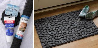 Kamienková rohož | DIY nápady a návod ako vyrobiť rohož z kamienkov