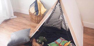 Stan pre deti | Kreatívne nápady a návody, ako vyrobiť deťom pevnosť