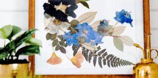Obrazy, ktorých dušou sú sušené rastliny | Návody ako postupovať