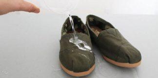 Vodeodolné topánky pomocou sviečky | DIY nápad na vodeodolnú obuv