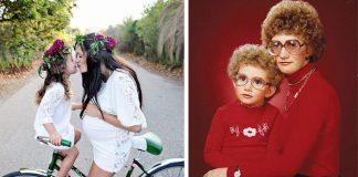 Aká matka, taká Katka | 22 roztomilých fotiek ako dôkaz
