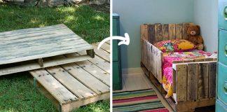 Detská posteľ z paliet | DIY nápad ako premeniť palety na posteľ pre dieťa