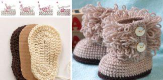 Háčkované UGG topánočky pre bábätká a deti | DIY návody ako na to