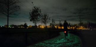 Solárny cyklistický chodník