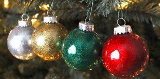 Trblietavé vianočné gule | DIY návod na vianočné ozdoby vlastnými rukami