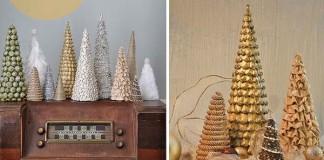 Dekoračné handmade stromčeky #2 | Návody