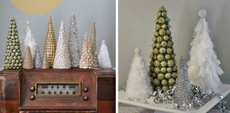 Dekoračné handmade stromčeky #1 | Vianočné nápady s návodmi