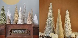 Dekoračné handmade stromčeky #3 | Návody