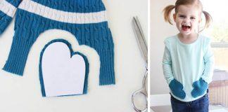 Tričko s vačkami | Kreatívny nápad s návodom ako využiť starý sveter