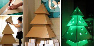 Kartónový vianočný stromček | Návod na vianočnú inšpiráciu