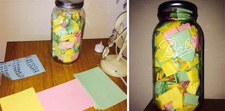 Láskyplný darček: Fľaša s 365 odkazmi lásky na každý deň