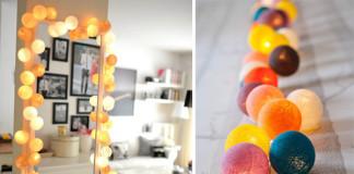 Dekoratívne osvetlenie - svetelná reťaz od Cable & Cotton