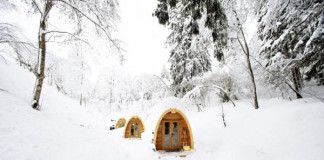 Jednoduché chatky uprostred švajčiarskej prírody | PODhotel