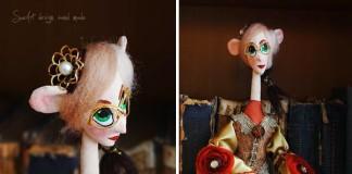 S láskou šité bábky, ktoré majú dušu | SueArt Design
