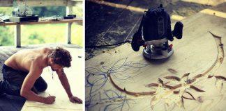 Pult s mozaikou | Návod ako vyrobiť drevený pult s keramickou mozaikou