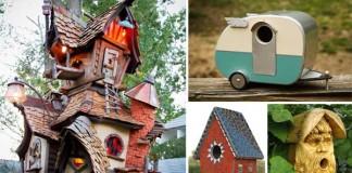 Vtáčie búdky | 30 najkreatívnejších nápadov
