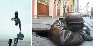 Najkreatívnejšie sochy sveta | 25 sochárskych nápadov