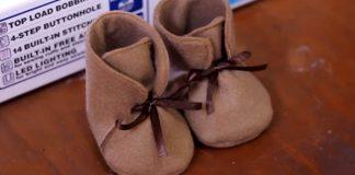 Topánočky z filcu pre deti | DIY návod ako postupovať