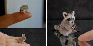 Miniatúry zvieratiek, ktoré vyzerajú realisticky od Reve