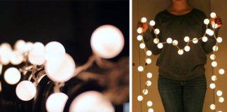 Svetielka z pingpongových loptičiek | DIY návod na svetelnú reťaz