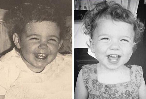 fotografie podobnosti deti a ich rodicov 10