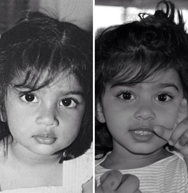 fotografie podobnosti deti a ich rodicov 11