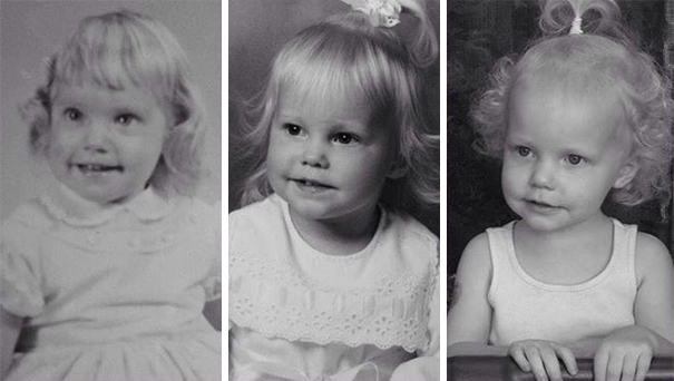 fotografie podobnosti deti a ich rodicov 13