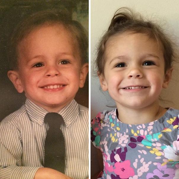fotografie podobnosti deti a ich rodicov 15