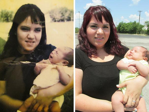 fotografie podobnosti deti a ich rodicov 16