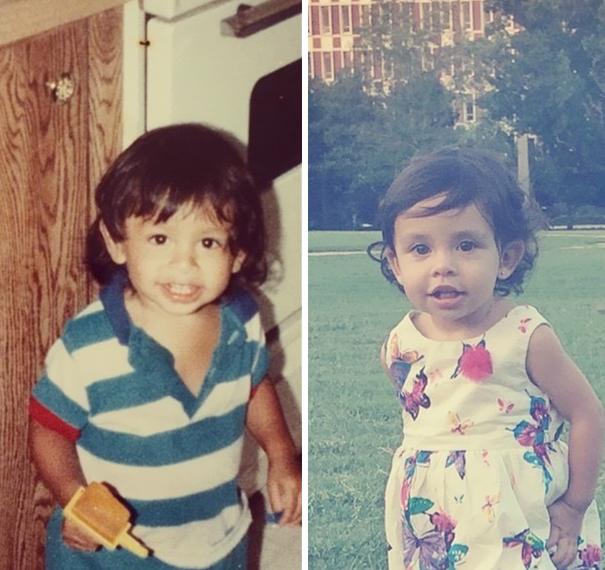 fotografie podobnosti deti a ich rodicov 19
