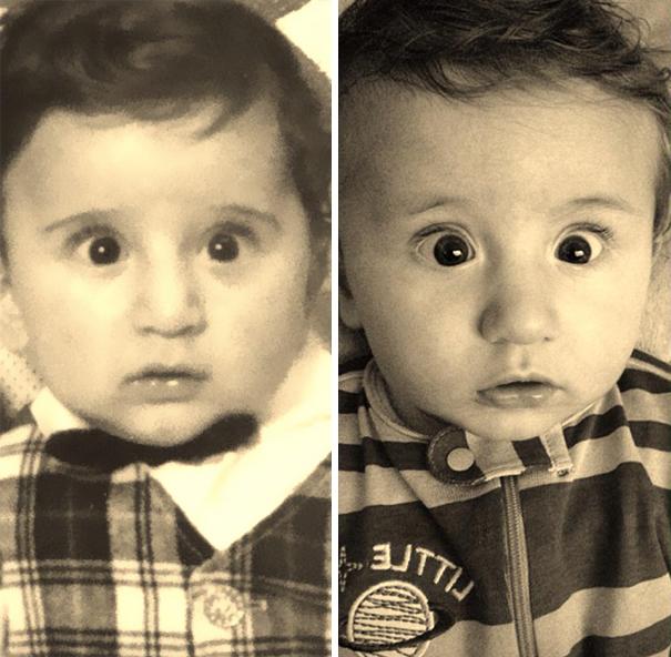 fotografie podobnosti deti a ich rodicov 5