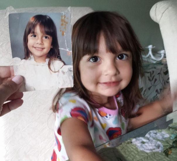 fotografie podobnosti deti a ich rodicov 6