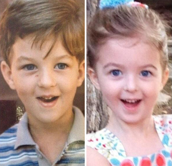 fotografie podobnosti deti a ich rodicov 7