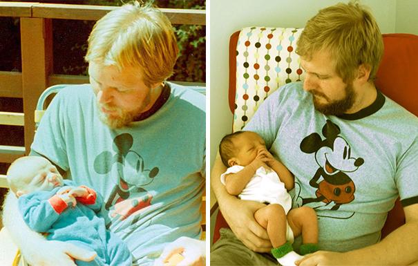 fotografie podobnosti deti a ich rodicov 9