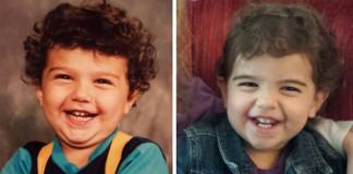 Rodičia a ich deti v rovnakom veku, ako by im z očí vypadli