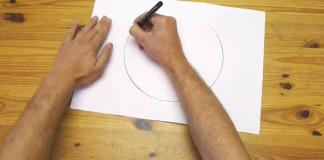 Dokonalá kružnica bez kružidla | Lifehack