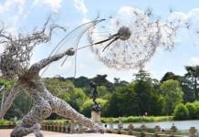 Najkrajšie sochy z drôtu | Drôtené umenie